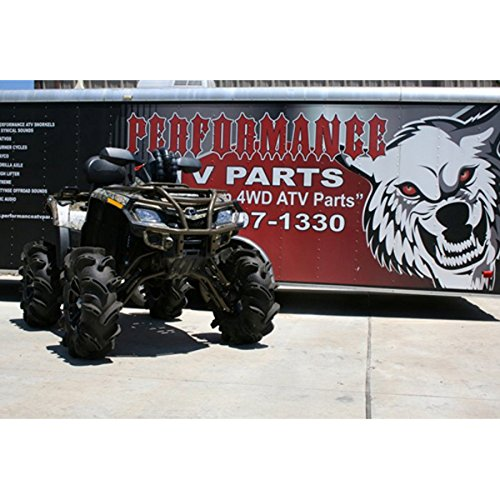 2009-2011 Can-Am Outlander 800 R Performance ATV Snorkel Kit by High Lifter SNORKL-C8-P