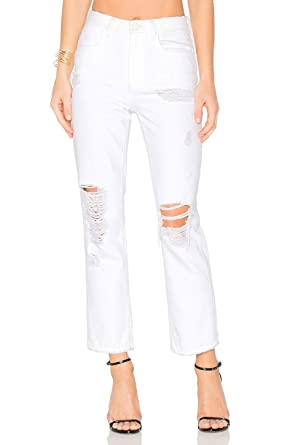 T by Alexander Wang Womens Cult White Destroyed Jeans (26 a11172b403fbb
