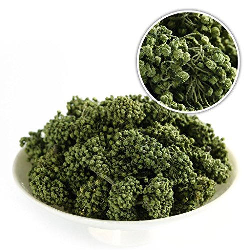 GOARTEA® 500g (17.6 Oz) Organic Ginseng Dry Flos Flower Sanqi * TianQi * Notoginseng Sanchi Chinese Herbal Tea by GOARTEA