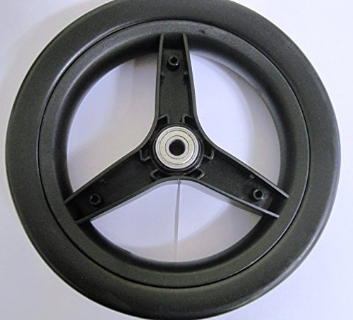 Peg Perego Rear Wheel for Peg Perego Si and Switch 2007 Onwards with Rim Black
