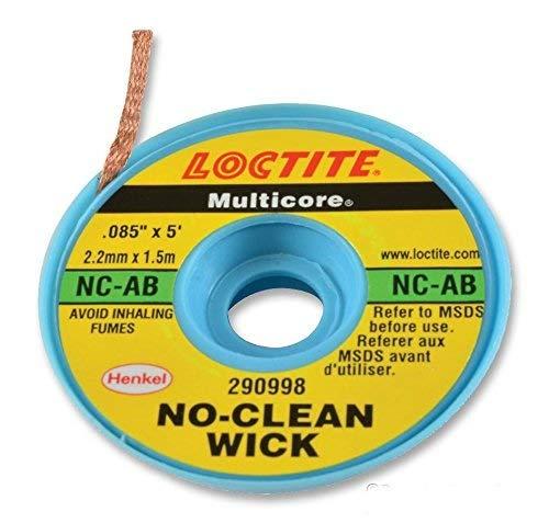 MULTICORE (SOLDER) NC-AB BRAID, DESOLDERING, NO CLEAN, - Multi Core Solder
