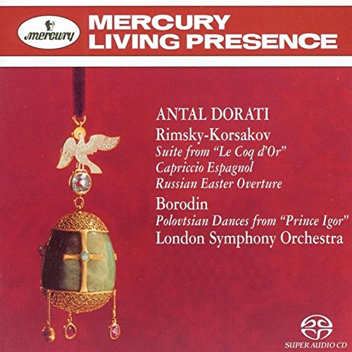 Rimsky-Korsakov: Suite from Le Coq D'Or / Capriccio Espagnol / Russian Easter Overture / Borodin: Polovtsian Dances from Prince Igor by Mercury Living Presence