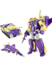 Shape-Shifting Toys Optimus Prime Transformer Toys G1 Blitzwing Three Changes Aircraft Tank Model 3rd Party Action Figure 10 Inch Optimus Prime spielzeug
