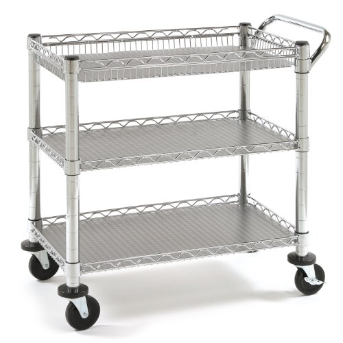 - Seville Classics Heavy-Duty Commercial-Grade Utility Cart, NSF Listed