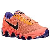 Nike Women's Air Max Tailwind 6 Bright Mango/Hyper Grape Court Purple/Black 12 B - Medium