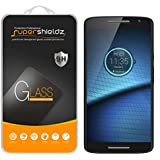 [2-Pack] Motorola Droid Maxx 2 Tempered Glass Screen Protector, Supershieldz Anti-Scratch, Anti-Fingerprint, Bubble Free, Lifetime Replacement Warranty
