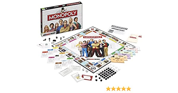 Monopoly Big Bang Theory Game: Amazon.es: Juguetes y juegos