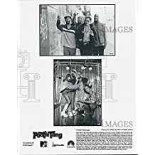 "2001 Press Photo Chris Rock, Smoove,Lance Crouther,Mario Joyner in ""Pootie Tang"""
