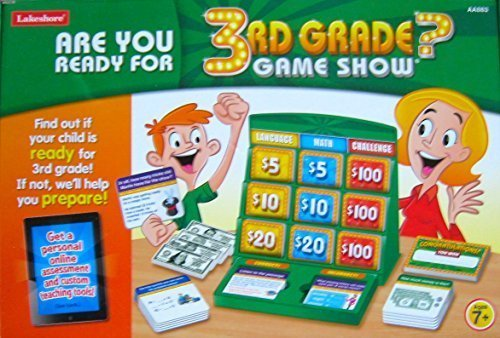 Are You Ready For 3rd Grade? GAME SHOW by Lakeshore by  Lakeshore