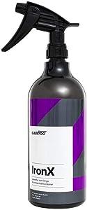 CarPro Iron X Iron Remover 1 Liter with Sprayer, Cherry Scent