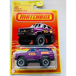 MBX Matchbox 2020 Retro Series 4/12, 1989 Chevy Blazer 4X4 Purple