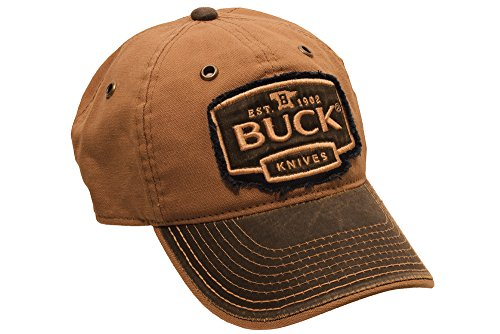 Buck Knives BU89086 Logo Cap, Rust Brown