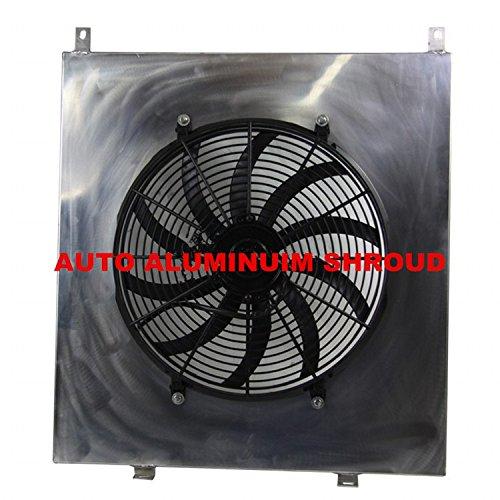 Fan Shroud Auto - GOWE AUTO ALUMINUIM SHROUD+FANS FOR NISSAN Y61 GU 3 4 5 02-09 4.2L TURBO DIESEL & PATROL Automobiles Replacement Radiators Parts