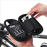 BM WORKS Tool Capsule Mini Cycling Tool Bottle Zip Bag for Water Bottle Cage Black : A zipper type capsule is convenient and can be easily set up on the water tank cage. Available to contain extra tube and punk patch