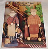 All-American Pastimes By Sue Ann Thomason Decorative Painter (NEW) Craft Book 1995