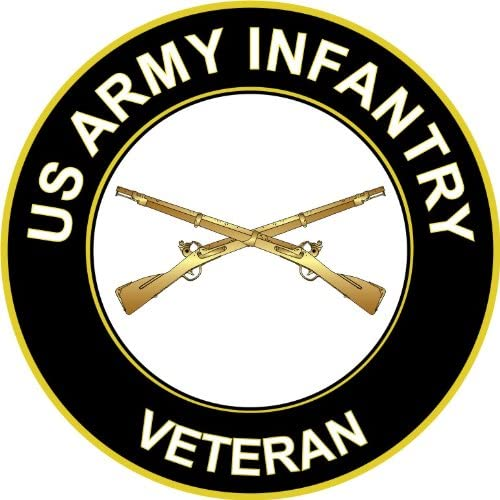 Sticker United States Army Disabled Veteran Decal