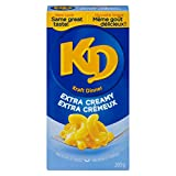 KD Kraft Dinner Extra Creamy Macaroni and Cheese, 200g