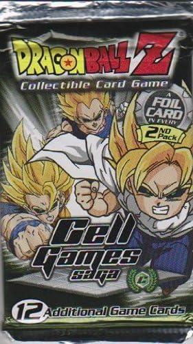 Dragon Ball Z Trading Card Game-Cell Games Saga Booster Pack: Amazon.es: Juguetes y juegos