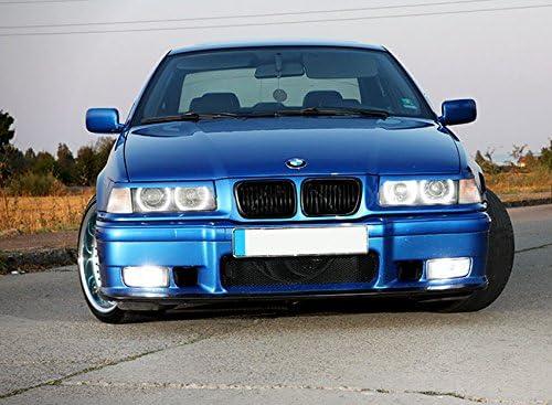 LCI Matte Black Kidney M Sport Front Hood Euro Grill For BMW 3 E36 Facelift M3 97-99