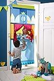 HABA Doorway Puppet Theater - Adjustable Rod fits in Most Doorways