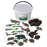 Nasco SB49923 Life form Replica, Bucket of Scat, 13 Different Animals