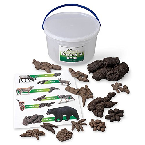 - Nasco SB49923 Life Form Replica, Bucket of Scat, 13 Different Animals