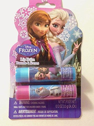 Granny's (c) Disney Frozen Elsa and Anna 2 pack .12 oz lip balm raspberry and blueberry