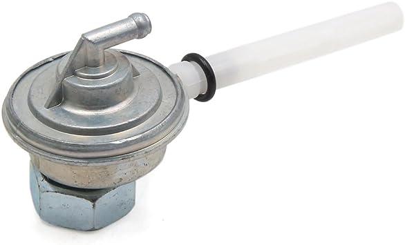 sourcingmap/® silbern Motorroller Motorrad Treibstofftank Tankdeckel Ventil Entl/üftungsrohr DE de