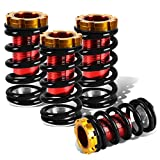 Civic/CRX/Del Sol/Integra Aluminum Scaled Coilover Kit (Black Springs Red Sleeves)