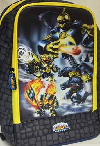 Skylanders Giants Gamepack Backpack (Skylander Action Figures)