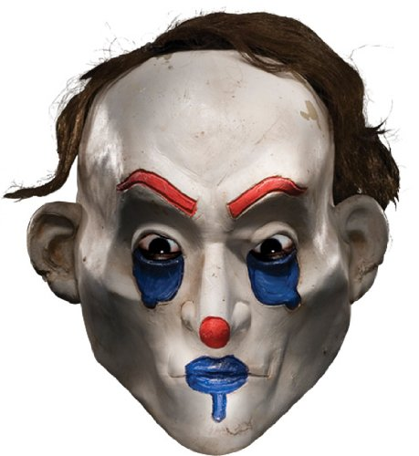 Joker Henchman Costume (Rubie's Costume Co Men's Batman The Dark Knight The Joker Henchman Happy Adult Mask, Multi, One Size)