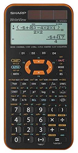 Sharp ELW506XB-YL – Per leggere le formule come nei libri