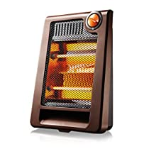 MAZHONG Space Heaters Heater Small Solar Heater Heating Energy Saving Household