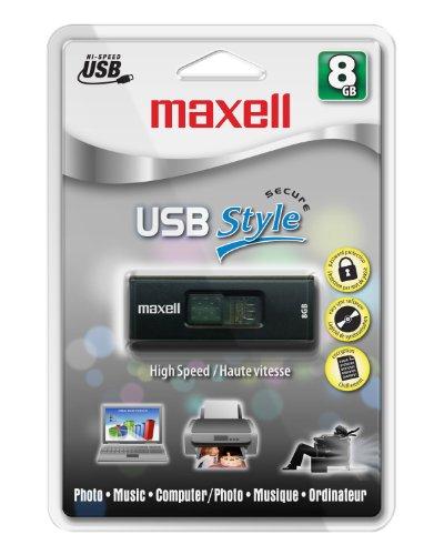 Maxell USB Style 8 GB USB 2.0 Flash Drive 503302