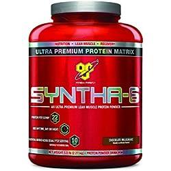 BSN SYNTHA-6 Protein Powder, Whey Protein, Micellar Casein, Milk Protein Isolate, Flavor: Chocolate Milkshake, 48 Servings