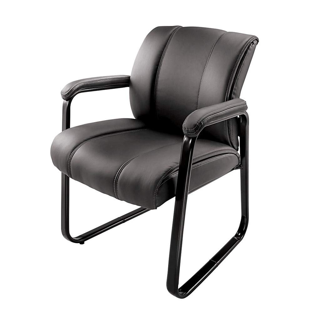 Brenton Studio Bellanca Guest Chair, Black by Brenton Studio