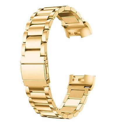 Fitbit Charge 3 Correa Metalica, ❤️ Zolimx Reemplazo ...