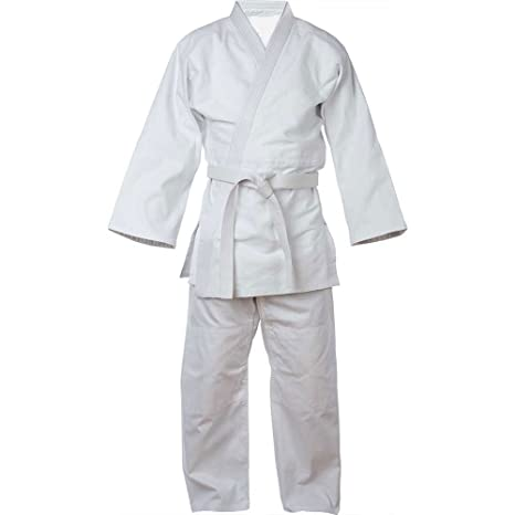 Knockout Kano 600 niños 100% algodón blanco traje de judo Gi + ...
