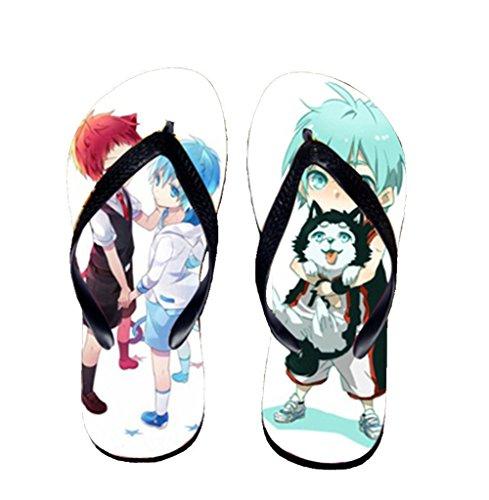 Bromeo Kuroko No Basuke Anime Unisex Flip Flops Chanclas 430