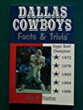 Dallas Cowboys Facts and Trivia, Gary Stratton, 0938313223