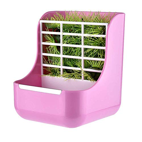 - Rabbit Feeders Hay Food Bin Feeder, Hay for Bunnies Small Animal Supplies Grass and Food 2 in 1 Use Rabbit Feeder,Hay Feeders Supply for Rabbit Guinea Pig Chinchilla