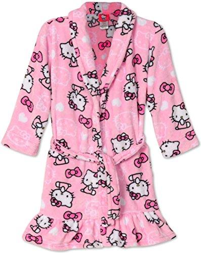 Hello Kitty Pretty Fleece Bathrobe