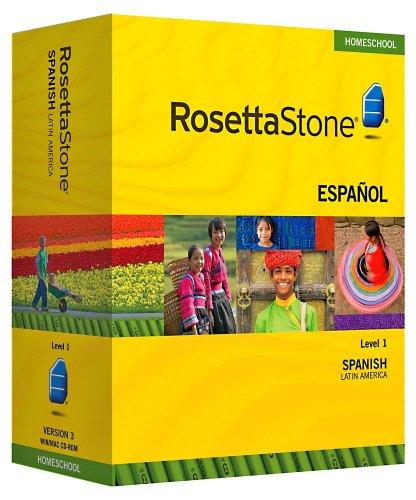 Rosetta Stone Homeschool Spanish  Level 1 including Audio Co