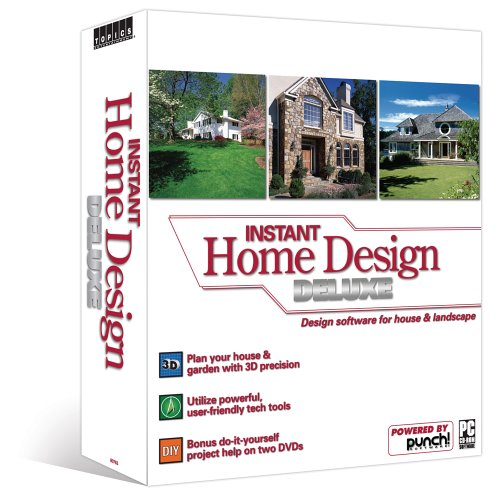 Instant Home Design Deluxe Software Computer Software