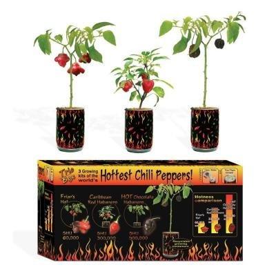 NSL Magic Plants Trio 3 Peppers Set