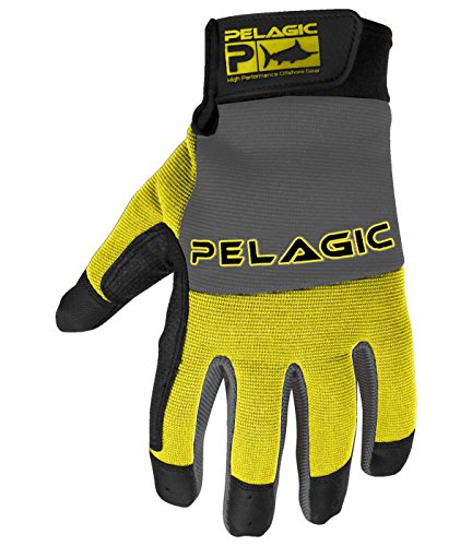 Pelagic End Game Fishing Gloves | Heavy-Duty Kevlar Lined | Sure Grip Design