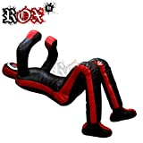 MMA Grappling Dummy by ROX Fit Grappling Dummy Brazilaian JiuJistsu Training Bag Black Red