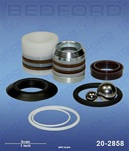 Bedford Precision Aftermarket Replacement for the GRACO 255-204 Bedford 20-2858 Kit – 190ES, 190LTS, 210ES, 210LTS