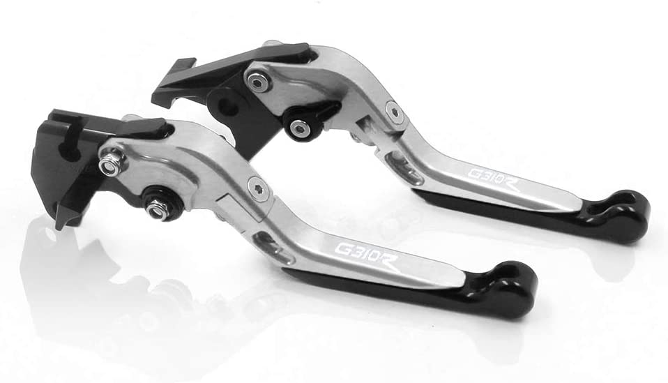 COPART Motorcycle Brake Lever and Clutch lever Set Foldable Extendable Brake Clutch Levers for BMW G310R 2017 2018 2019