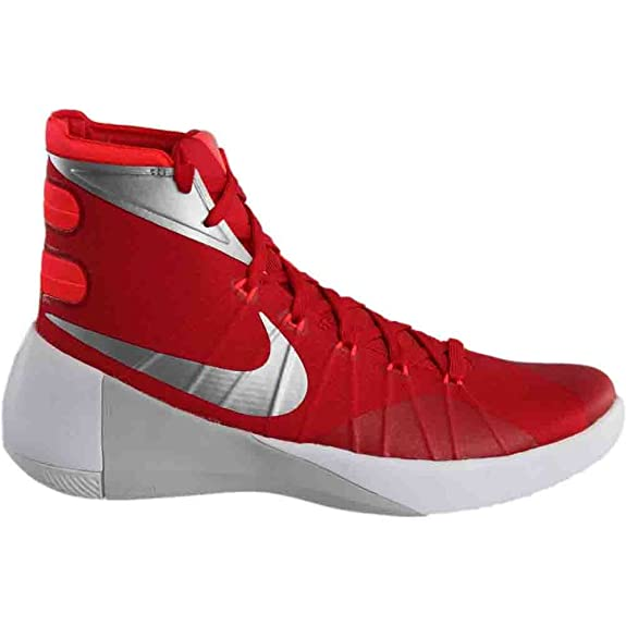 low priced 70f1b 4f1e6 Nike Mens Hyperdunk 2015 TB Basketball Shoes University Red Bright Crimson White  749645-605 Size 11. 5  Buy Online at Low Prices in India - Amazon.in